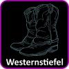 Westernstiefel Strassmotive