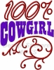100 Prozent Cowgirl